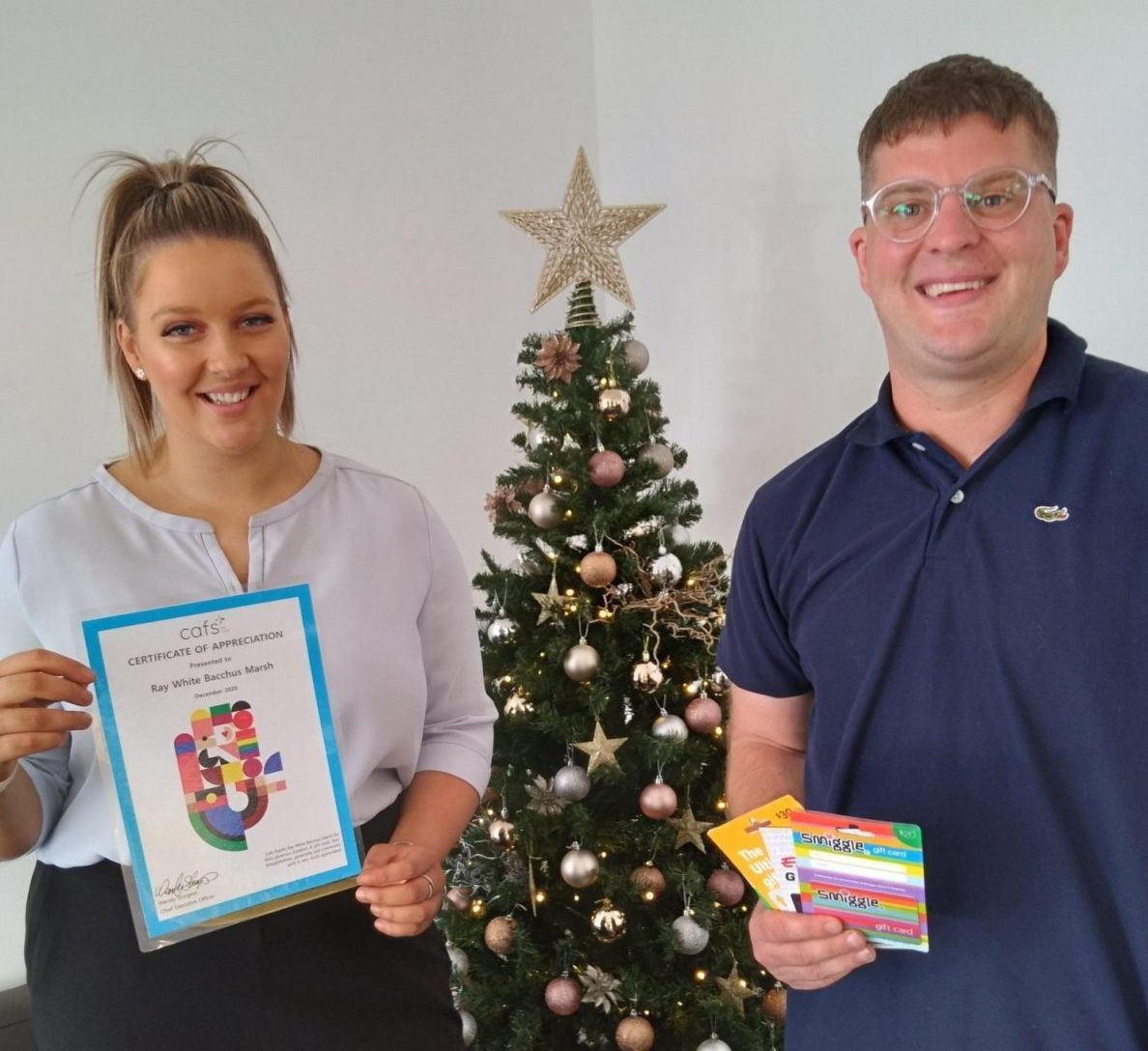 Cafs Christmas Appeal